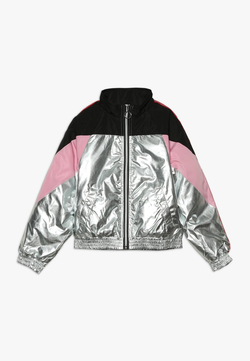 Guess - JUNIOR JACKET - Winter jacket - silver/pink/multi
