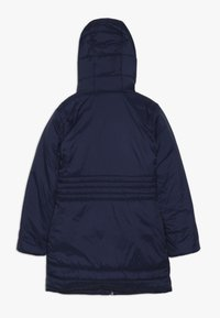 Guess - JUNIOR PADDED HOODED LONG JACKET - Płaszcz zimowy - deck blue - 1