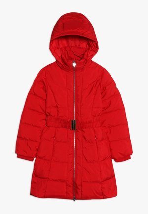 JUNIOR PADDED A LINE  - Down coat - red hot