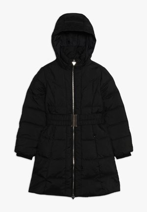 JUNIOR PADDED A LINE  - Down coat - jet black