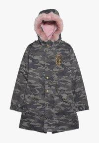 Guess - JUNIOR DRILL  - Zimní kabát - green - 0