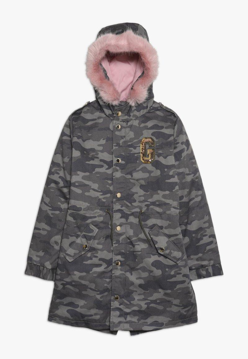 Guess - JUNIOR DRILL  - Zimní kabát - green