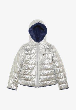 JUNIOR REVERSIBLE  - Zimní bunda - dark silver metallic