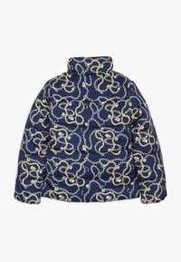 Guess - JUNIOR PADDED SLIM JACKET - Chaqueta de invierno - dark blue/gold