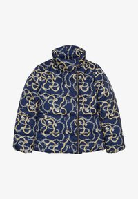 Guess - JUNIOR PADDED SLIM JACKET - Winterjas - dark blue/gold - 2