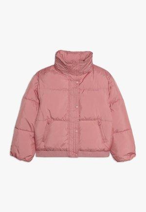 JUNIOR OVERSIZE BOMBER JACKET  - Winter jacket - slip pink