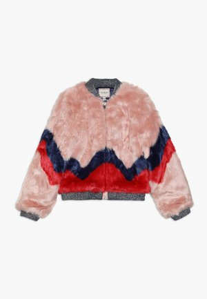 JUNIOR JACKET - Winterjas - pink/red