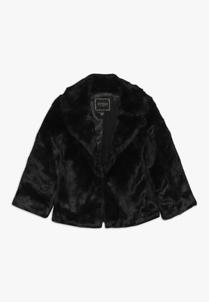 JUNIOR JACKET WITH PATCH - Winterjas - jet black