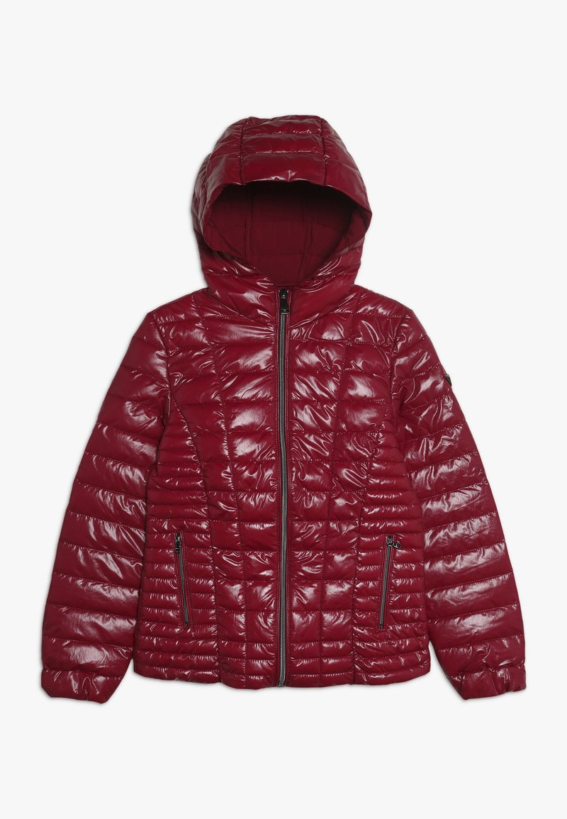 Guess - JUNIOR THERMORE HOODED JACKET - Zimní bunda - rouge/russian red