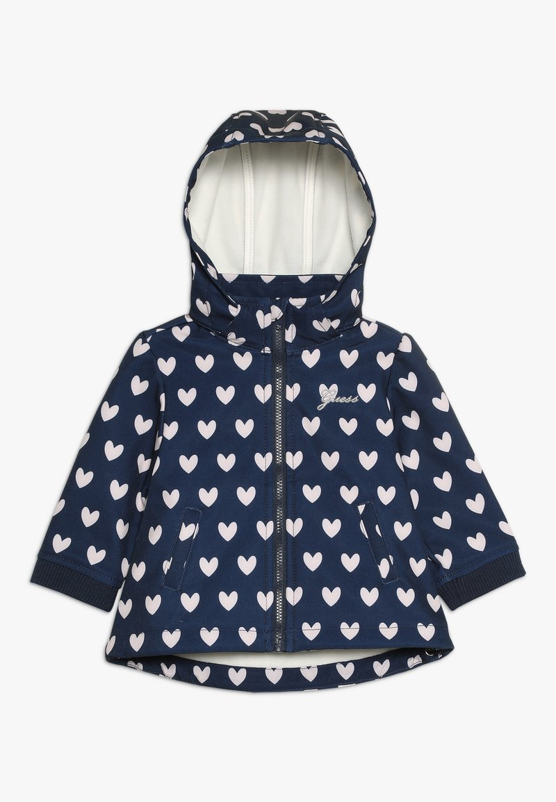 Guess - DETACHABLE HOOD JACKET BABY - Jas - dark blue