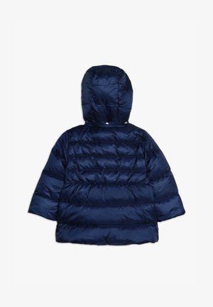 PADDED HOODED JACKET BABY - Down jacket - deck blue