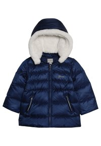 Guess - PADDED HOODED JACKET BABY - Down jacket - deck blue - 4