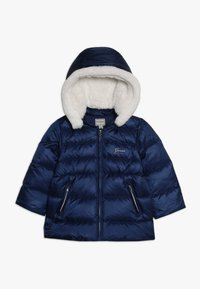 Guess - PADDED HOODED JACKET BABY - Down jacket - deck blue - 0