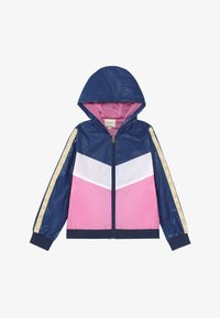 Guess - JUNIOR HOODED ACTIVE - Light jacket - geometric pink blue - 2