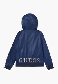 Guess - JUNIOR HOODED ACTIVE - Light jacket - geometric pink blue - 1