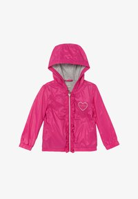 Guess - HOODED JACKET BABY - Lehká bunda - rouge/shocking pink - 2