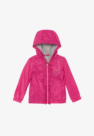 HOODED JACKET BABY - Chaqueta de entretiempo - rouge/shocking pink