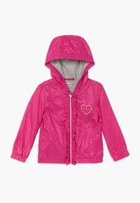 Guess - HOODED JACKET BABY - Lehká bunda - rouge/shocking pink - 0