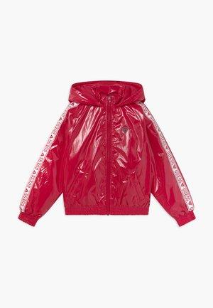 JUNIOR HOODED ZIPPER - Winter jacket - disco pink