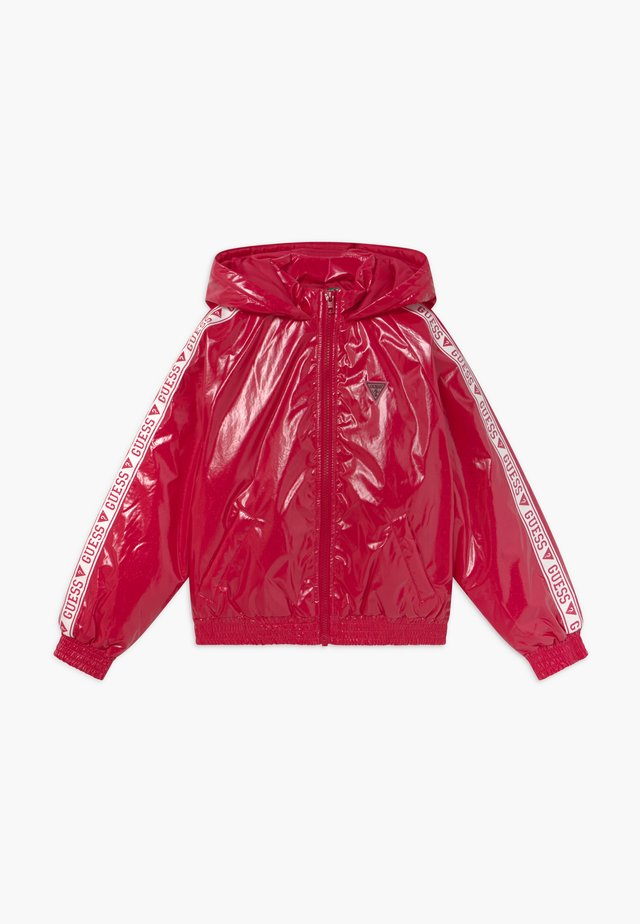 JUNIOR HOODED ZIPPER - Winterjas - disco pink