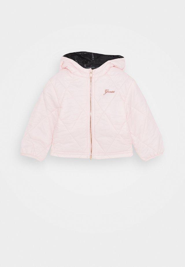 PADDED HOODED REVERSIBLE BABY - Jas - pink sky