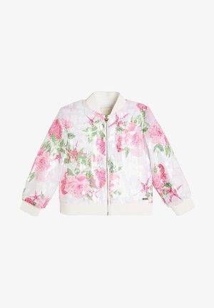 BLUMEN-PRINT - Light jacket - rose