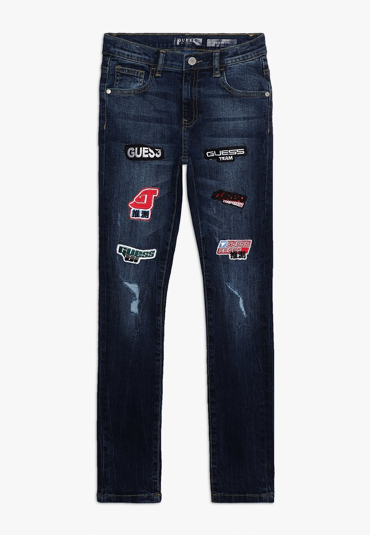 Guess - SKINNY PANTS - Jeans Slim Fit - vintage indigo patch