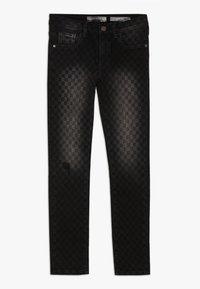 Guess - JUNIOR SKINNY PANTS - Jeans Skinny Fit - black/white - 0