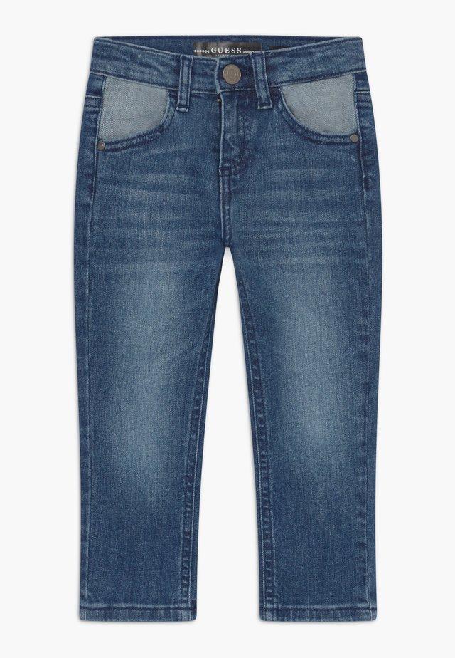 TODDLER SLIM - Slim fit jeans - blue
