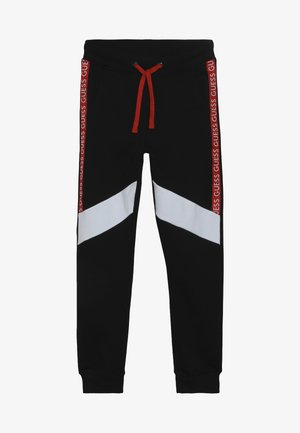 JUNIOR EXCLUSIVE ACTIVEWEAR - Träningsbyxor - jet black