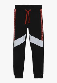 Guess - JUNIOR EXCLUSIVE ACTIVEWEAR - Pantalones deportivos - jet black - 0
