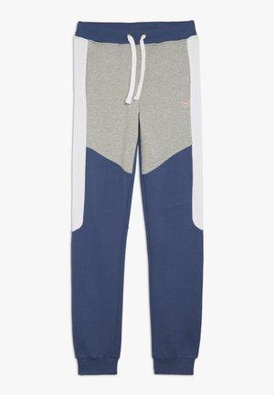 JUNIOR EXCLUSIVE ACTIVEWEAR - Spodnie treningowe - deck blue