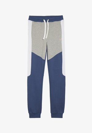 JUNIOR EXCLUSIVE ACTIVEWEAR - Tracksuit bottoms - deck blue