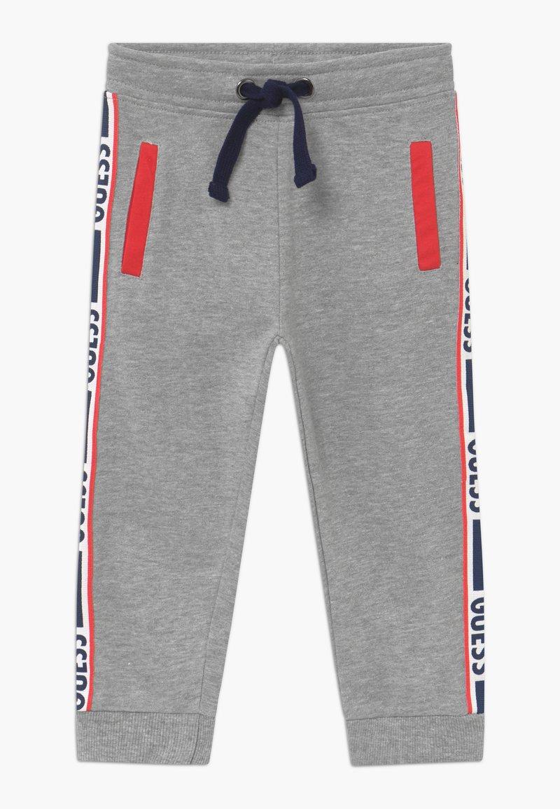 Guess - TODDLER ACTIVE PANTS - Tracksuit bottoms - light heather grey melange