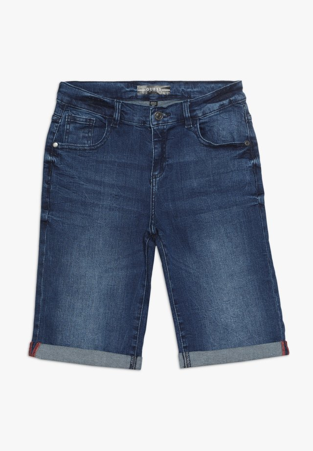JUNIOR SHORTS - Jeansshort - denim sporty blue