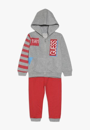 ACTIVE ZIP PANT BABY SET - veste en sweat zippée - light heather grey