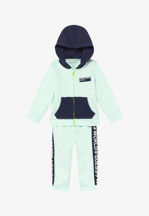 SET  - Zip-up hoodie - grey mark