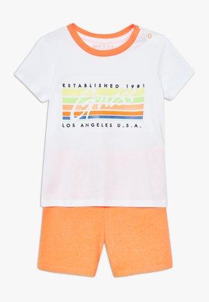 SET - Pantalones deportivos - blanc pur