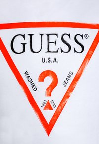 Guess - JUNIOR CORE - Print T-shirt - true white - 2