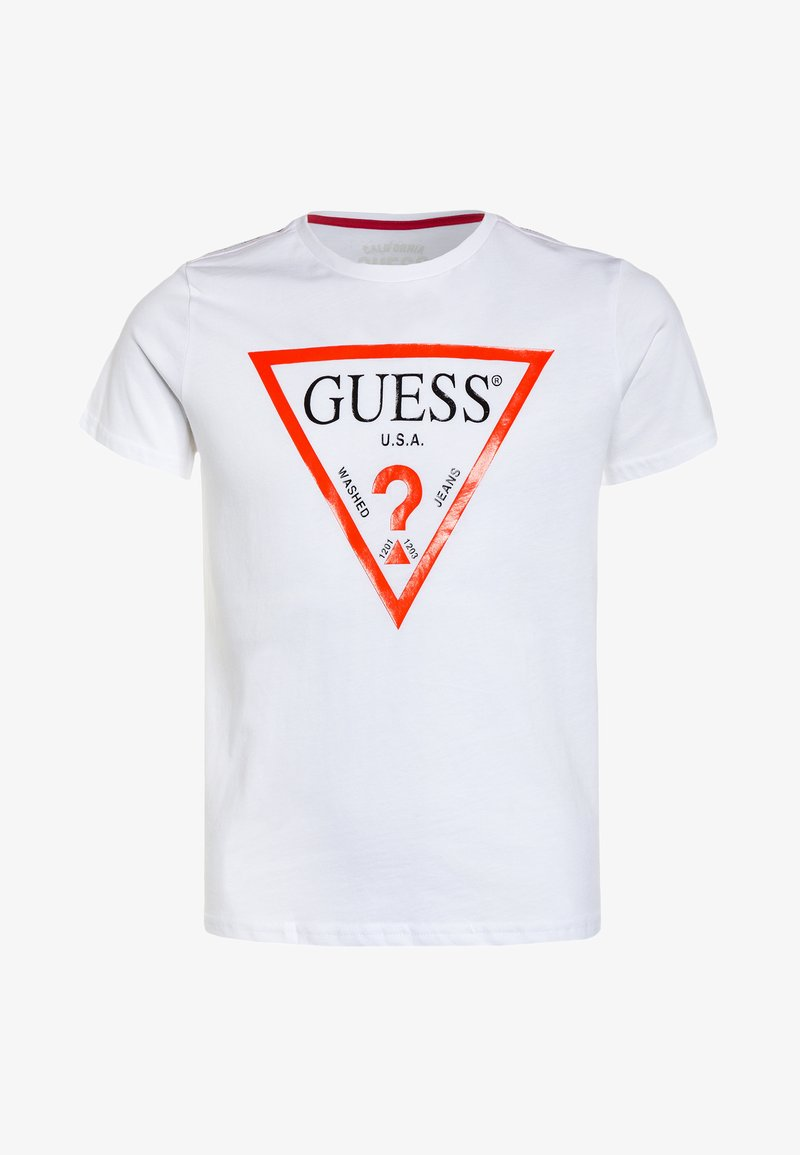 Guess - JUNIOR CORE - Print T-shirt - true white