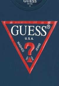 Guess - JUNIOR CORE - Print T-shirt - beauty blue - 3