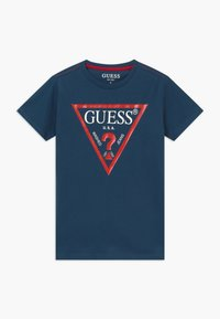 Guess - JUNIOR CORE - Print T-shirt - beauty blue - 0