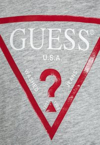 Guess - JUNIOR CORE - Print T-shirt - light heather grey - 2