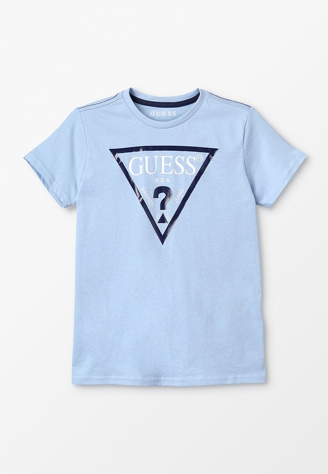 JUNIOR CORE - T-shirt z nadrukiem - frosted blue