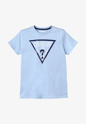 Print T-shirt - frosted blue