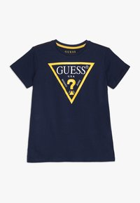 Guess - T-shirt con stampa - blue/white - 0