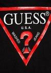 Guess - T-shirt z nadrukiem - jet black
