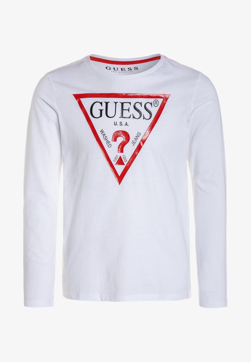 Guess - Long sleeved top - true white