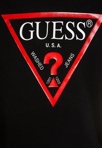 Guess - Long sleeved top - jet black - 2