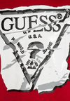 Guess - T-shirt print - red hot